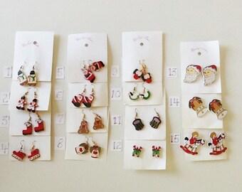 Christmas Wooden Earrings