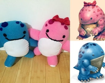Ready to be shipped Quaggan Plush from Guild Wars 2