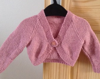 Infant girl shrug | Etsy