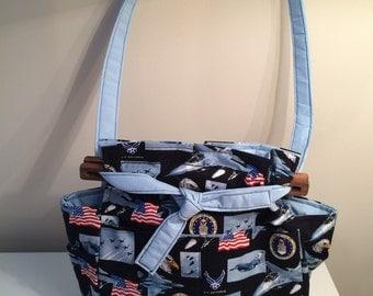 Air Force medium size purse