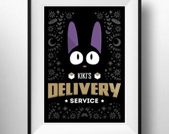 Kiki's Delivery Service - Poster Print