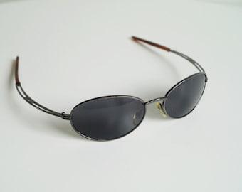 Sun Glasses Vintage Glasses Elipse Lenses Vintage Sunglasses Sporty Model Dark Eyeglasses Shades