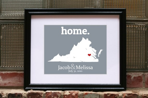 Virginia Home Decor Virginia Decor Virginia Sign Housewarming