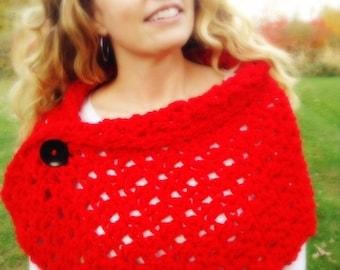 Crochet Spring Shawl