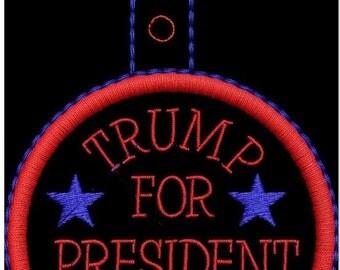 trump for pres..