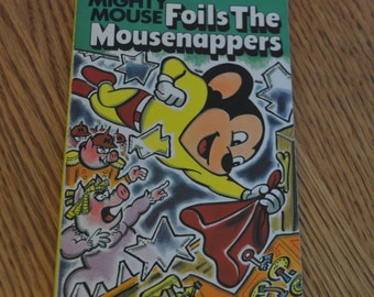 1979 Mighty Mouse Foils The Mousenappers Book