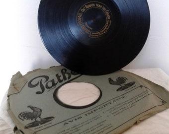 gramophone record, vintage music, opera, Handel, 78rpm records, memorabilia, rare pathe, unique find, classical music, old records