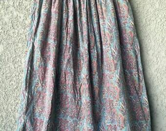 Cotton Khazan maxi skirt