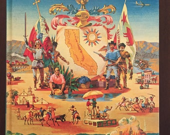 The Golden Book of California, 1961 vintage children's book