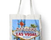 Las Vegas Summer Sign Tote Shopper Bag For Life America USA Shopping E72