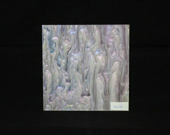 120x120mm W210 Mother of pearl acrylic perspex sheet
