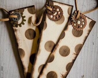 Wood Bookmark- Circle Design