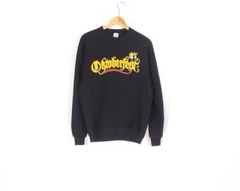 80s OKTOBERFEST SWEATSHIRT // 80s // Oktoberfest // Octoberfest // German Sweatshirt // Germany Sweatshirt // German // Octoberfest
