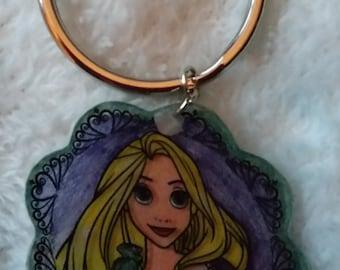 Rapunzel, Tangled, Keychain
