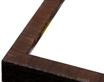 "Olea Coffee Brown Veneer 3/4"" Picture Frame.  3x5,4x6,5x7,6x8,8x10,9x12,11x14,12x16,14x18,16x20,18x24,20x24,20x30,22x28,24x30,24x36"