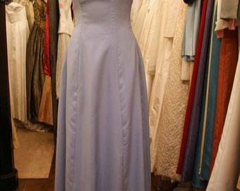 Floor Length Panelled Bridesmaid Dress