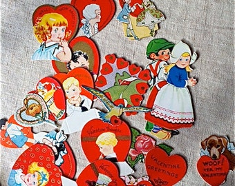 Old Valentines Decorations