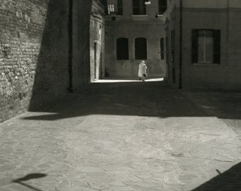 Sant'Alvise.Silver print,selenium toned