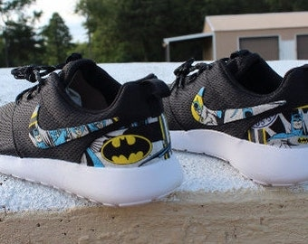 tydom Wonder Woman Nike Custom Roshe by GrabbKicks on Etsy