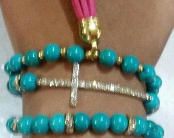 SET - Turquoise Bracelets