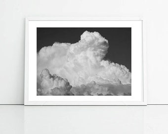 Cloud Photo, Sky Print, Nature Photography, Printable Art, Office Decor