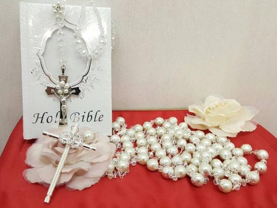 Biblia Y Matrimonio : Items similar to lazo de boda con biblia y rosario