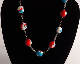 Necklace from FIMO beads