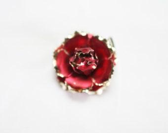 3D Rose Bloom Brooch