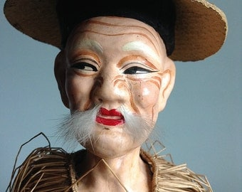 Chinese Character Doll 1940s