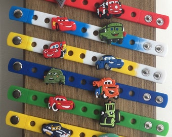 Cars PARTY FAVORS charm bracelets