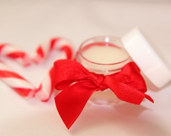 Peppermint Candy Cane Lip Balm