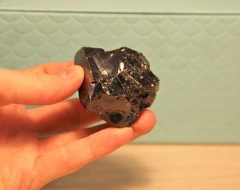 Noble shungite stone crystal, BIG Elite shungite nugget 49 gr. (0.11 Lb) Noble shungit stone, chakra crystal, high vibration reiki ES113