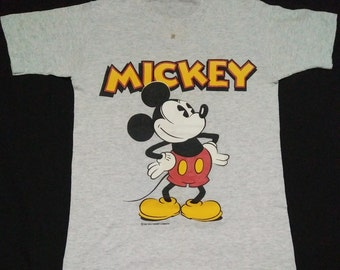 Mickey mouse (vintage 80s mickey mouse shirt 18x26.5
