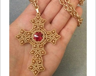 DIY Photo Tutorial pdf ENGLISH Cross Pendant