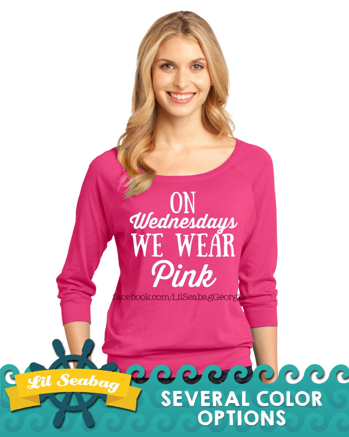Mean Girls Quotes On Wednesdays We Wear Pink: On Wednesdays We Wear Pink Shirt Pink Shirt Mean Girls
