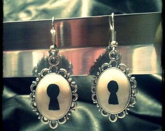 Lock Earrings