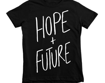 Hope, Future, toddler tshirt, youth tshirt, kids fashion, faith-based tee, unisex kids clothing, jesus tees