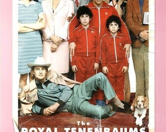 THE ROYAL TENENBAUMS Movie Poster Wes Anderson