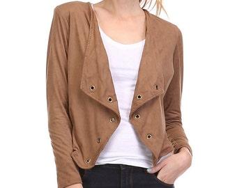J4958 Bohemian Short Jacket Blazer