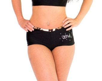 Wink Leopard Print Booty Shorts