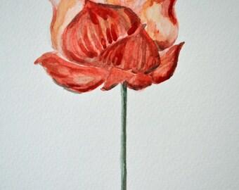 Flower Painting # 10 Framed