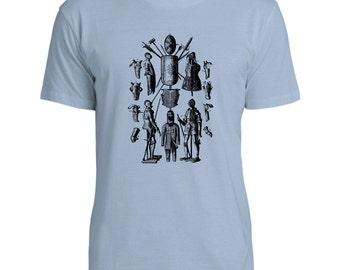 Mintage Suit of Armor  Mens Fine Jersey T-Shirt