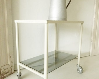 Vintage 1930 modern retro medical clinic table with minimalist appeal... CHARMANT!