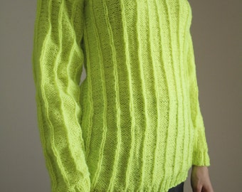 Handmade Neon Sweater
