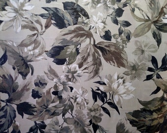 "2 yards x 54"" Mill Creek Floral Magnolia Interior Decorating Fabric"