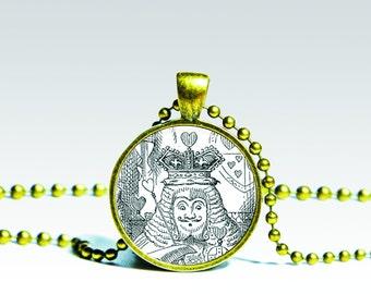 Alice in Wonderland Necklace, Fairy tale Alice pendant, alice necklace, Alice in Wonderland Charm Wonderland Pendant Alice Charm.