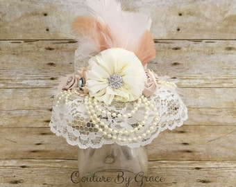 Mini Top Hat, Couture Top Hat, Baby Top Hat, Newborn Mini Top Hat, Newborn Top Hat, Alice in Wonderland, Photo Prop, Party Hat-Baby Girl Hat