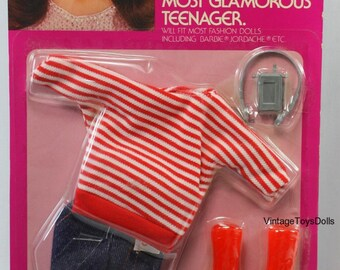 Vintage Brooke Shields Doll Fashion Clothes MOC 1982 LJN