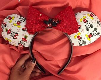 Mickey Loves Minnie Disney Mouse Ears