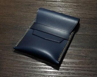 H14 - Handmade Leather  businesscardholder / businesscard holder / cardholder [Handmade]
